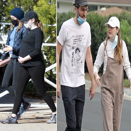 Emma Stone pregnant with her first child, shows her baby bump, emma stone pregnant with her first child,  shows her baby bump,  emma stone,  pregnant,  dave mccary,  hollywood,  hollywood news,  ifairer