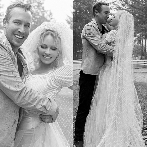 Pamela Anderson ties the knot with bodyguard Dan Hayhurst, pamela anderson ties the knot with bodyguard dan hayhurst,  pamela anderson,  dan hayhurst,  wedding 2021,   hollywood,  hollywood news,  hollywood gossip,  ifairer