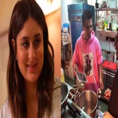 Kareena Kapoor Khan and Karan Johar Flaunt Culinary Skill In --STAR VS FOOD, bollywood