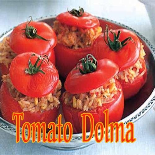 TOMATO DOLMA, tomato dolma,  recepies,  main course,  tea time recipes