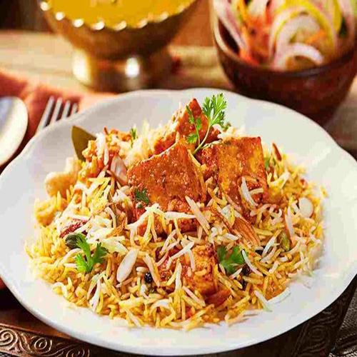 Cook Makhani Paneer Biryani at your home, cook makhani paneer biryani at your home,  how to cook makhani paneer biryani,  learn to make makhani paneer biryani at your home,  recipe of biryani at your home,  main course dish,  rice dish,  recipe to prepare makhani paneer biryani at your home,  ifairer