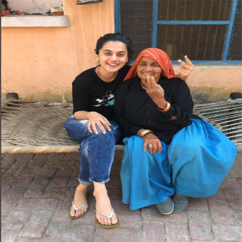 Taapsee Pannu Give Tribute To Shooter Dadi On Her Demise, taapsee pannu,  saand ki aankh