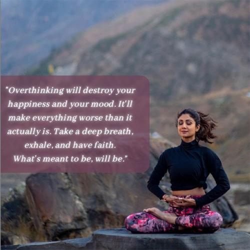 The Fitness Icon Shilpa Shetty Is Back With A Motivational Post, shilpa shetty,  bollywood,  coronavirus india