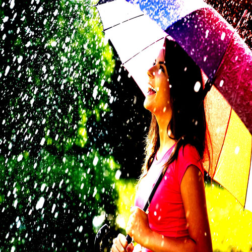 Stand in monsoon with make up tips