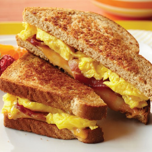 Recipe: How to make grilled cheese sandwich