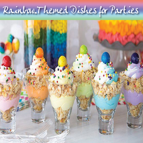 17 Pretty Rainbow-Themed Dishes for Parties, pretty rainbow themed dishes for parties,  rainbow themed dishes,  rainbow looking desserts,  colorful dessert ideas for parties,  cheerful dessert for to light up a party,  tasty party treats,  travel,  cuisines,  ifairer