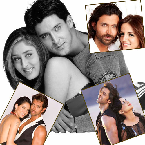 5 Women in Hrithik Roshan's life, hrithik roshan,  women in hrithik roshan life,  hrithik roshan love life,  hrithik roshan love affair,  bollywood news,  bollywood gossip,  bollywood news and gossip,  ifairer