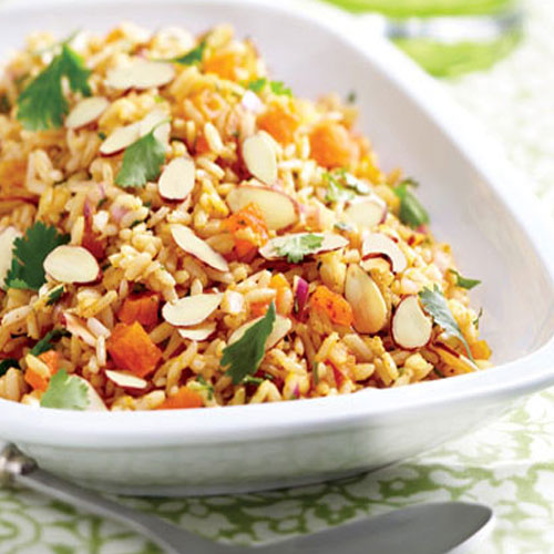 5 Amazing Ways to Use Almonds , 5 amazing ways to use almonds, brown rice pilaf with apricots and almonds, toasted almond chicken salad, rustic braised apple quarters with raisins and toasted almonds, oats-almond mixed berry crisp, chicken and almond dumplings,  almond recipes,  ifairer,  cuisines,  foods in which you can use almonds,  best way to use almond,  recipes,  foods in which almonds can be used,  health,  health tips