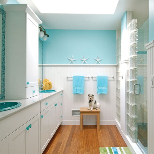 5 beach inspired bathroom decor ideas slide 1 for Beach inspired bathroom designs