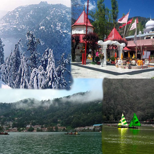 5 Best Tourist Attractions Of Nanital, 5 best tourist attractions of nanital, naini lake, naina devi temple, raj bhawan, gurney house, snow view