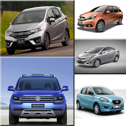 5 CARS to be launch in FEB..