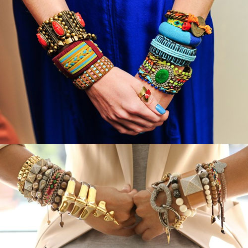 5 Different Ways To Wear Bangles, 5 different ways to wear bangles, mix shapes, wear the rainbow, play with sizes, love textures, writing on the wrist,  fashion tips,  fashion,  accessories,  fashion accessories,  bangles to wear,  ways to wear bangles,  tips to wear bangles,  ifairer