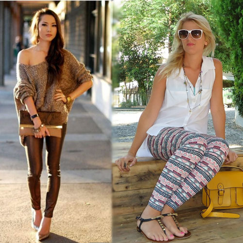 5 Fun Leggings And How To Style Them, 5 fun leggings and how to style them, floral print, animal print, geometric print, pleather, tribal print,  5 different types of leggings,  types of leggings,  ifairer,  fashion,  fashion tips,  how to wear leggings,  ways to different leggings,  leggings,  variety of leggings,  fashionable leggings,  stylish leggings,  leggings for girls