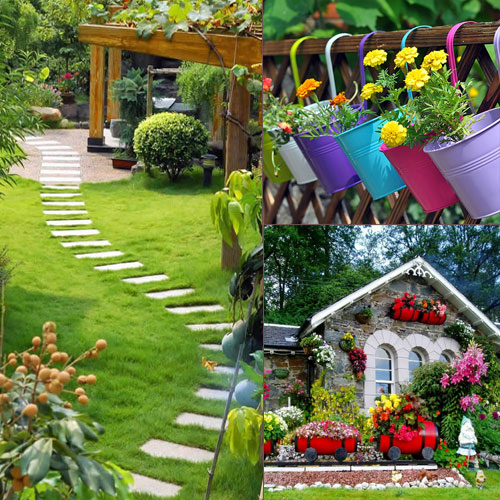Bon 5 Ideas To Decorate Your Garden, 5 Ideas To Decorate Your Garden, Tips To
