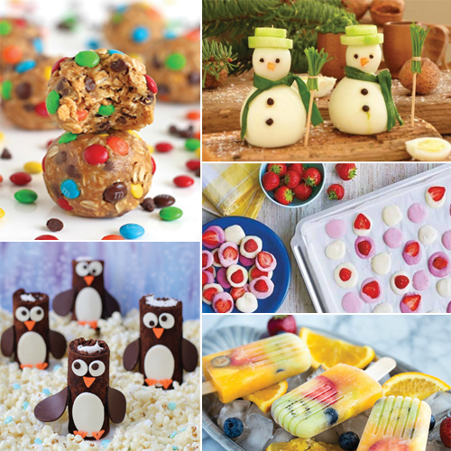 5 Incredibly Cute and Tasty Tea Time Recipes for kids, 5 incredibly cute & tasty tea time recipes for kids,  tasty tea time recipes for kids,  healthy snack recipes for kids,  no bake granola bar bites,  frozen yogurt buttons,  frozen banana penguins,  fresh fruit pops,  egg snowman,  recipe,  ifairer