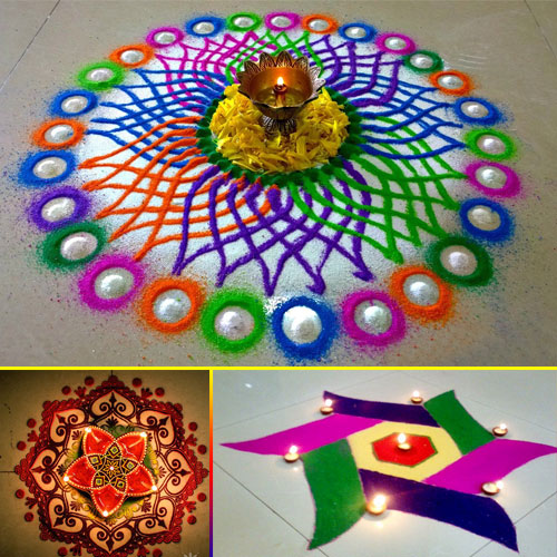 Home Decor Ideas For Navratri: 5 Rangoli Designs For Navratri Slide 1, Ifairer.com