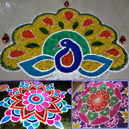 Genial 5 Rangoli Designs For Diwali