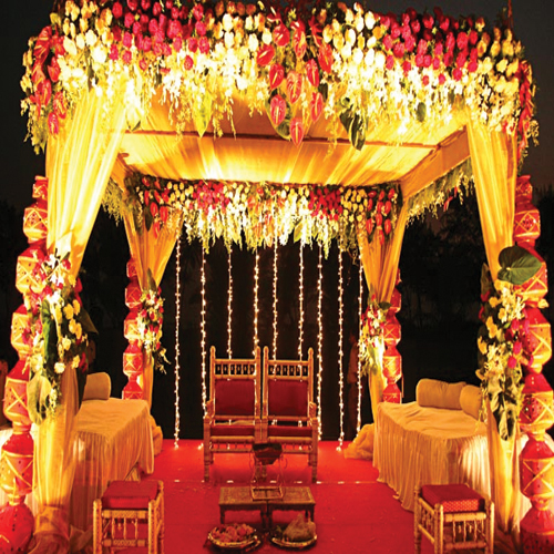 5 vastu tips for decorating lagan mandap slide 3 for Artificial flower decoration mandap