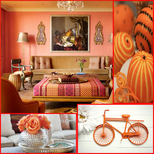 5 ways to DECORATING a Room in ORANGE!!, fab color,  decor,   home sweet home,  home decor,  orange decor,  decorating in orange,  bedroom living room,  dinning room,  orange dinning room,  orange bedroom
