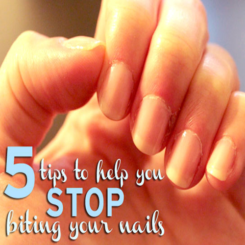 5 Ways To Stop Biting Your Nails! Slide 1, ifairer.com