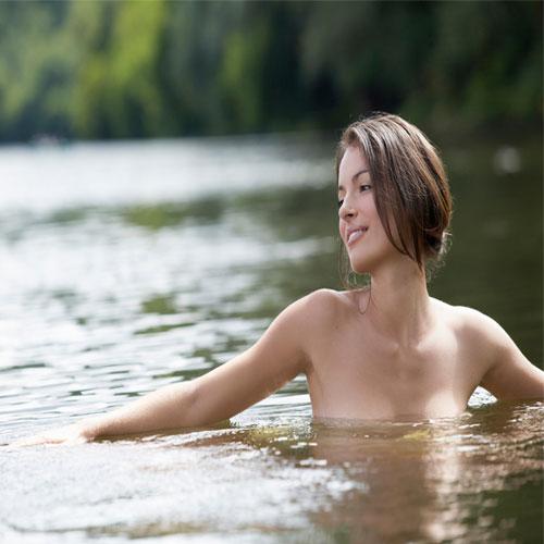 Beautiful nude men and women