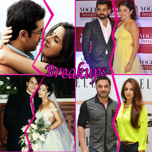 6 Big celebrity breakups in Jan.2016, 6 biggest celebrity breakups in january 2016,  bollywood celebs breakups in january 2016,  bollywood news,  bollywood gossip,  bollywood news and gossip,  bollywood splits in jan 2016ifairer