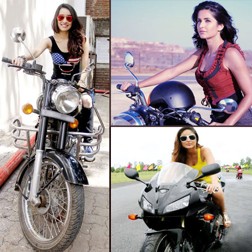 6 B'wood hot babes and their bike fascination, 6 bollywood hot babes and their bike fascination,  bollywood hot babes and their bike fascination,  bollywood actress bike fascination,  bollywood news,  bollywood gossip,  latest bollywood updates,  ifairer