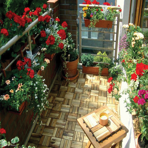 Balcony Garden Ideas: 6 Charming Balcony Gardens Ideas For Beginners Slide 1