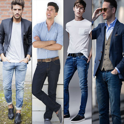 6 Classy combinations wearing blue denim, 6 classy combinations while wearing a blue denim,  stylish ways to wear a basic pair of blue jeans,  how to wear a classic pair of blue denims in 6 different ways,  6 ways to wear this classic blue style,  fashion tips,  ifairer