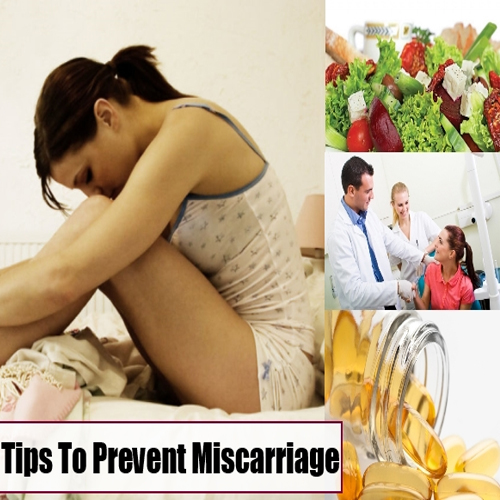how to avoid miscarriage nhs