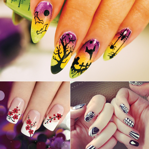 6 Trending Nail Art Themes Of 2016