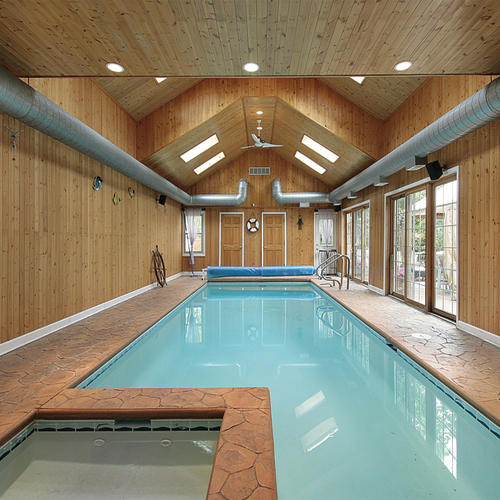 7 Classy Indoor Swimming Pool Decor Ideas Slide 2, ifairer.com
