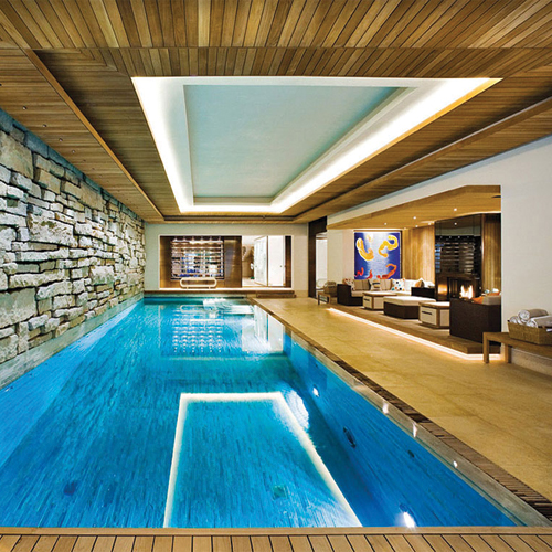 Home Plans With Pool Inside: 7 Classy Indoor Swimming Pool Decor Ideas Slide 8, Ifairer.com