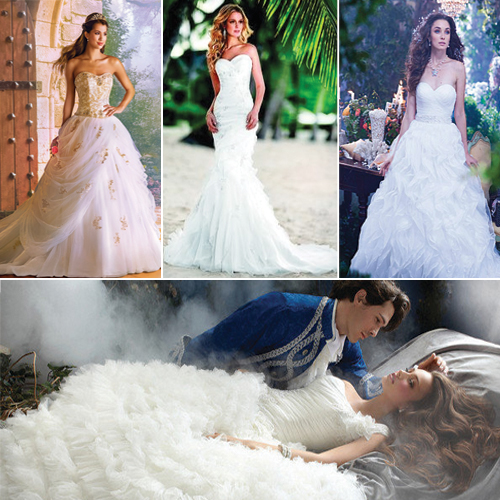 7 Fairytale Disney Princess Inspired Wedding Gowns, 7 fairytale disney princess inspired wedding gowns,  disney fairytale bridal collection,  fairytale wedding gowns collection,  beautiful princess inspired wedding gowns,  fairytale disney princess gowns,  hollywood,  ifairer