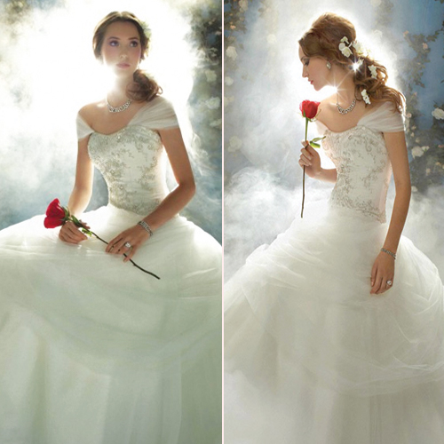 Disney Inspired Wedding Dresses - Wedding Photography
