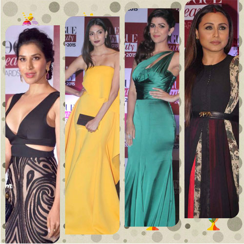7 Hottie at Vogue Beauty Awards 2015