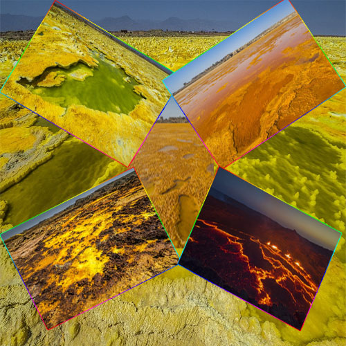7 Landscape of alien planet found on earth, 7 landscape of alien planet found on earth,  the amazing volcanic hydrothermal fields in ethiopia that look like the landscape of an alien planet,  amazing landscape on the earth,  general articles,  incredible volcano images look like they could be from an alien world,  an endless yellow-orange landscape,  ifairer