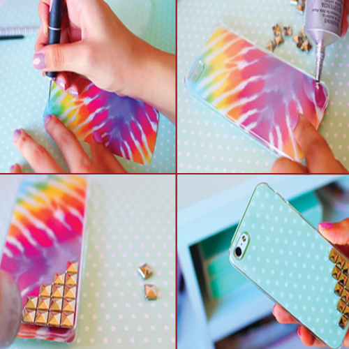 Ways to decorate a phone case