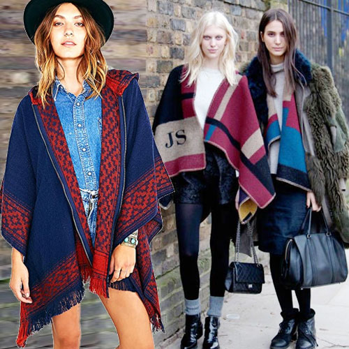 8 Tips to wear Ponchos in winter, 8 tips to wear ponchos in winter,  fashion,  fashion tips,  fashion trends,  fashion accessories,  fashion trends 2014,  latest news,  ifairer