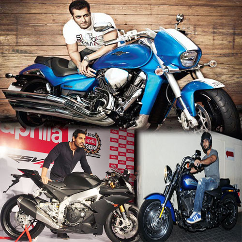 8 Top most stars who have expensive bikes, 8 top most stars who have expensive bikes,  stars who have expensive bikes,  most expensive celebrity bikes,  bollywood news,  bollywood gossip,  latest bollywood updates,  ifairer