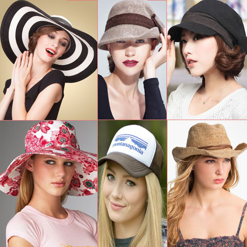 9 Types of summer hats for women Slide 1 7fca3dbae77