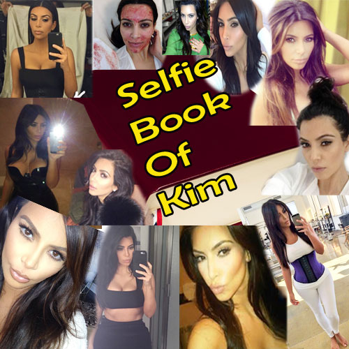 A lot inside Kim's Selfie Book...!, kim selfie book,  selfish,  hollywood news,  hollywood gossips,  latest news,  kim kardashian