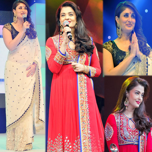Aishwarya and Kareena's Stylish looks 