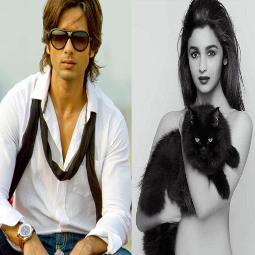 Alia Bhatt Fell in Love with Shahid Kapoor 