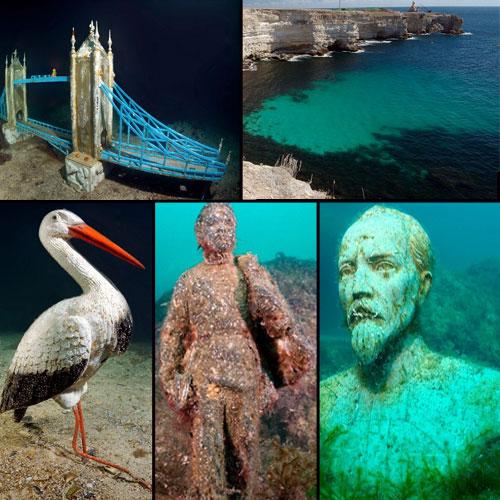 Amazing underwater sculpture museum, amazing underwater sculpture museum,  underwater sculpture museum,  miracle underwater sculpture museum,  underwater sculpture museum in ukraine,  ajab gajab,  general articles,  ifairer