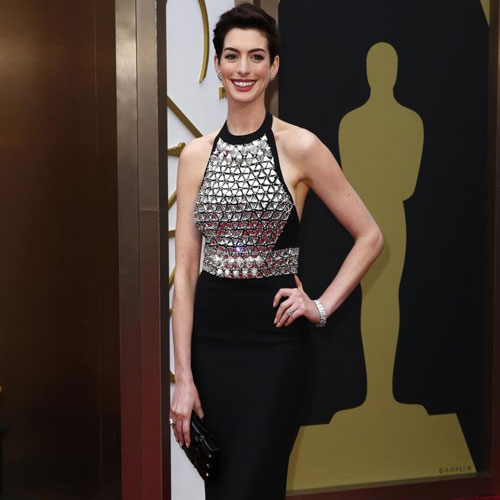 Anne Hathaway Drunk At Oscar Awards Slide 1, Ifairer.com