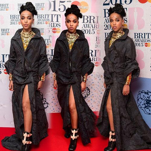 Antique Fashion of FKA twigs at BRIT Awards, antique fashion of fka twigs at brit awards,  fashion,  fashion tips,  fashion trends,  fashion accessories,  fashion trends 2015,  latest news,  ifairer,  fka twigs,  tahliah debrett barnett