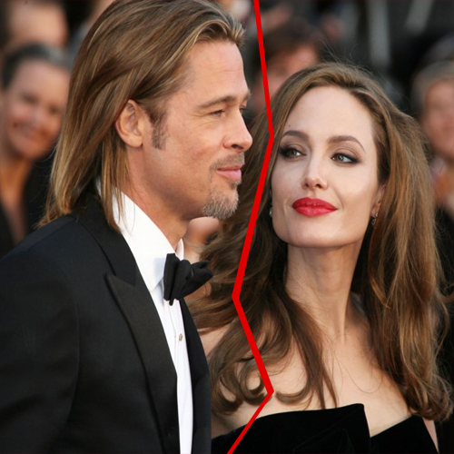 Are Angelina and Brad Heading for Divorce!, are angelina and brad heading for divorce,  brangelinas paradise in trouble,  alls not well in brangelinas paradise,  angelina and brad heading for divorce,  angelina jolie brad pitt to break up,  hollywood gossip,  entertainment,  ifairer