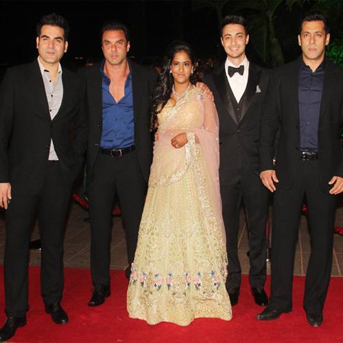 Arpita and Ayush's Wedding Reception!, arpita and ayush wedding reception,  salman khan,  bollywood,  bollywood wedding,  arpita wedding,  ifairer