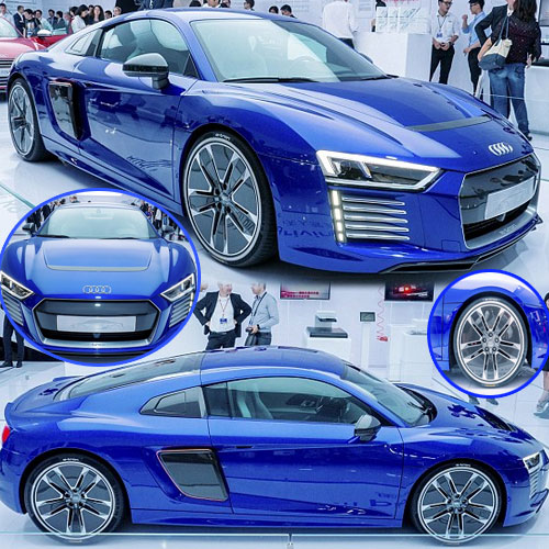 AUDI unveils fastest selfdriving car , audi  announce fastest self  driving car with heart stealing features,  audi unveils fastest self driving car,  audi has unveiled its new electric supercar the r8 e-tron,  amazing self driving car,  technology,  automobile,  ifairer
